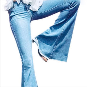 Denim - Bell Bottom Hippie Boho Jeans Size 28 Women's